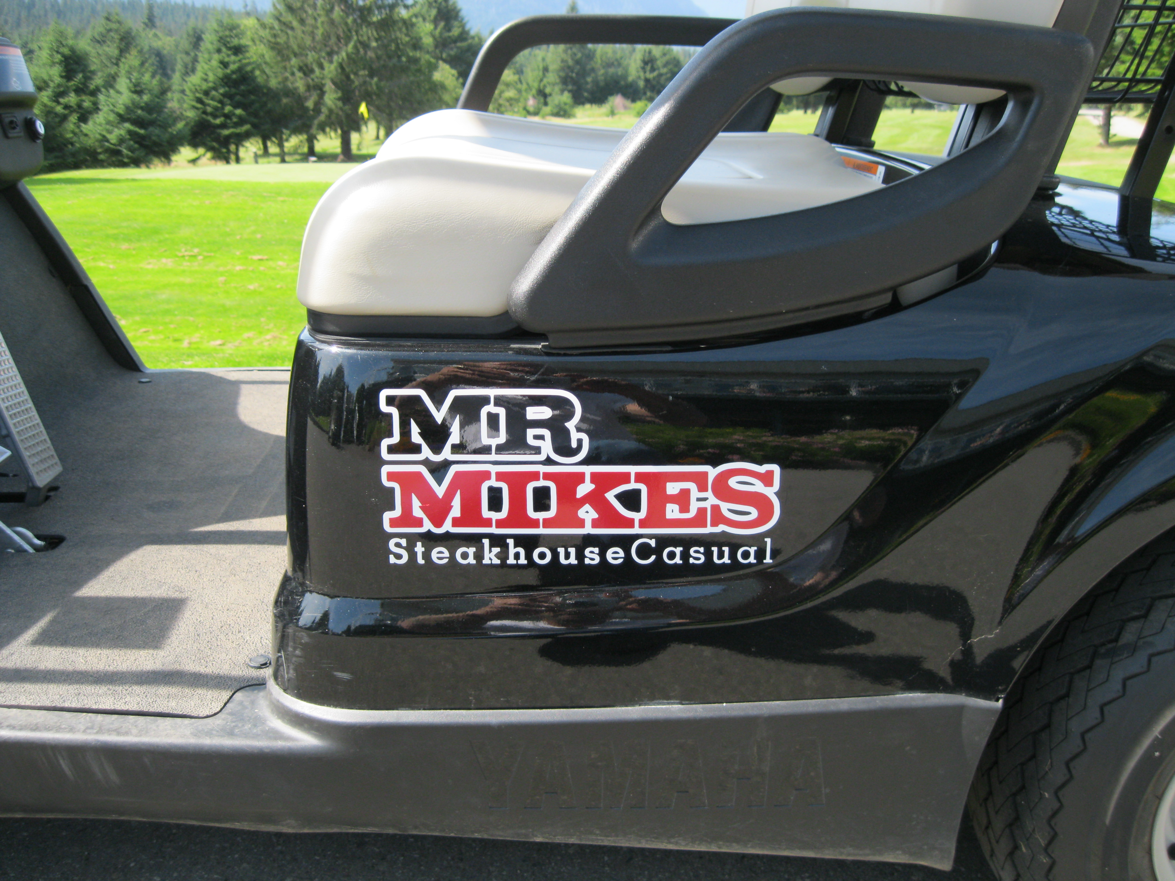 Golf Cart Decals