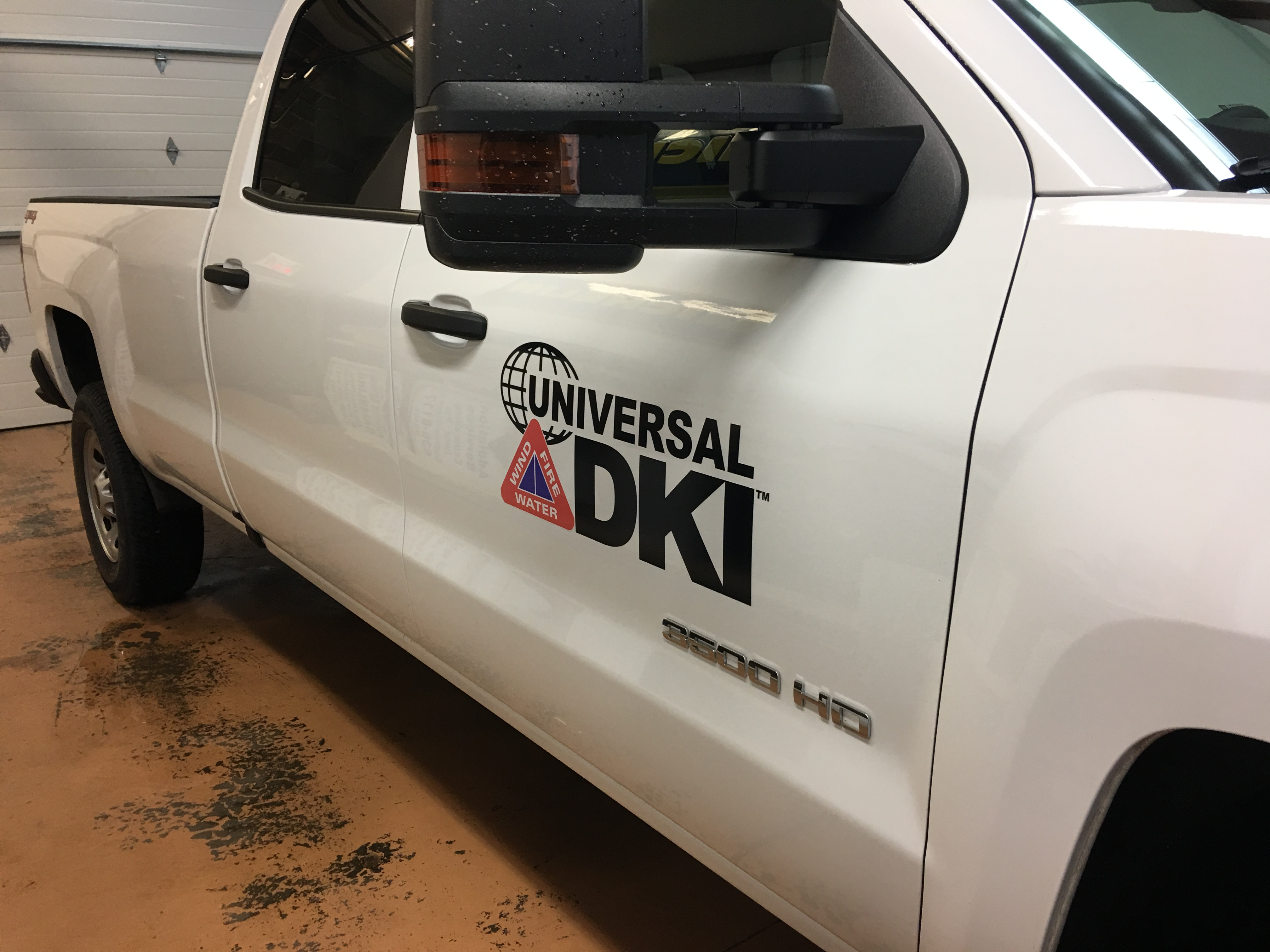Vehicle door decal
