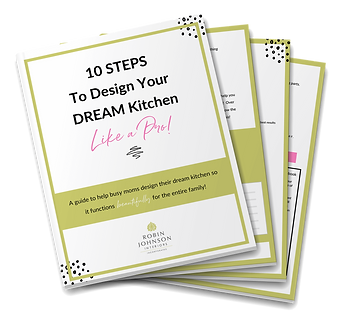 10 Steps to Design Your Dream Kitchen Mockup Graphic