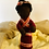 Thumbnail: Black Needlefelted Doll
