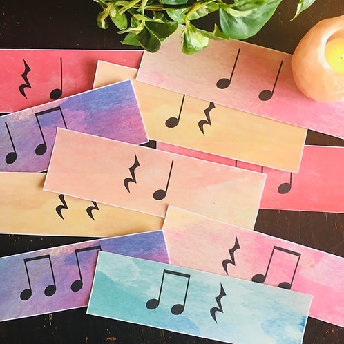 Rhythm Cards Set 2