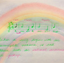Rainbow  Main Lesson Book Page