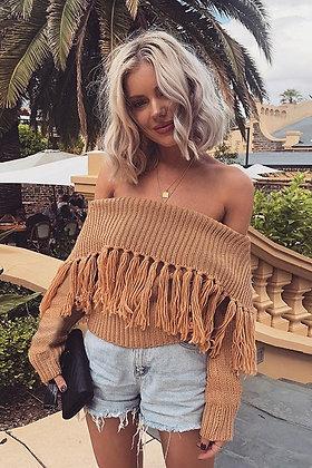 Solange Tassel Sweater