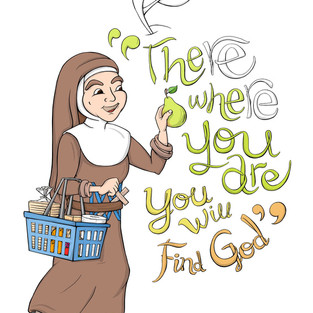 Mary MacKillop - There where you are you will find God