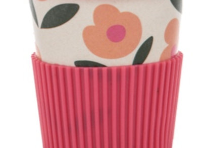 BAMBOO TAKEAWAY CUP - Pink