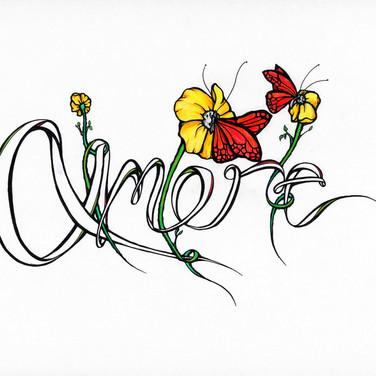Butterfly Love - Amore - Italian