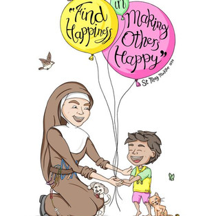 Mary MacKillop - Find Happiness...