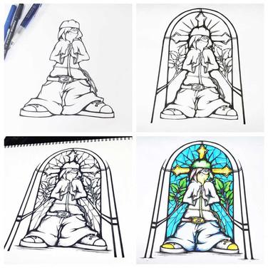 Prayerz - Artwork Development