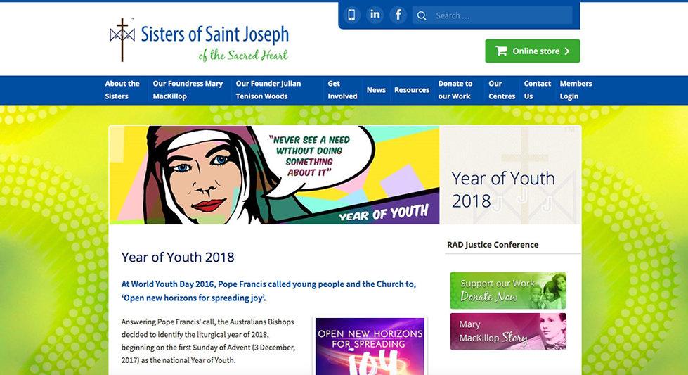Year of Youth - Catholic Pop-Art