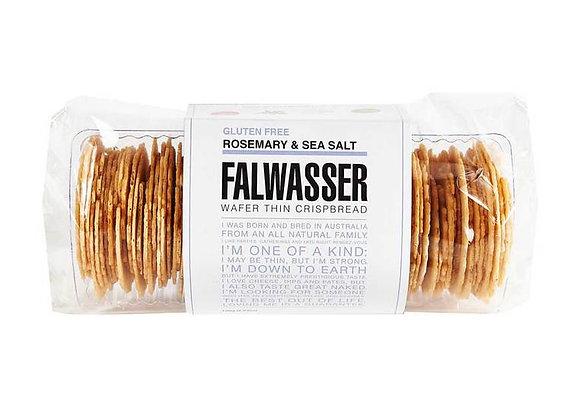 FALWASSER GLUTEN FREE ROSEMARY & SEA SALT CRISPBREAD