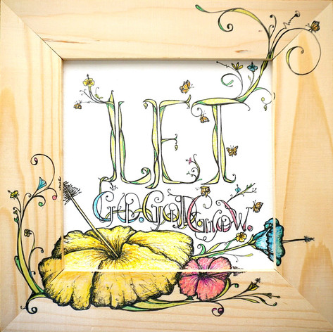 Let God - LetGo - Let Grow