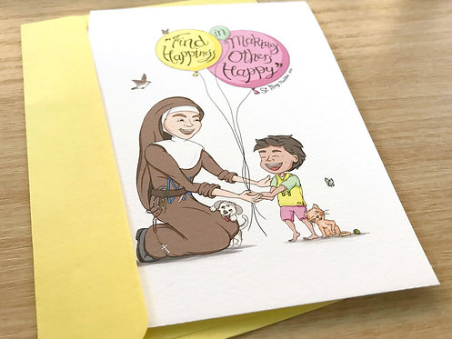 St Mary MacKillop - Cartoon Quote Cards