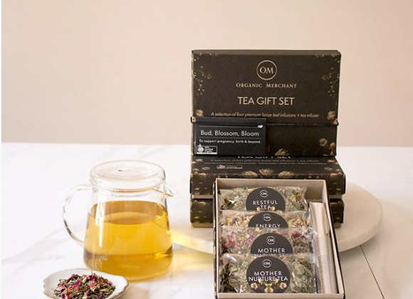 BUD, BLOSSOM & BLOOM TEA GIFT BOX