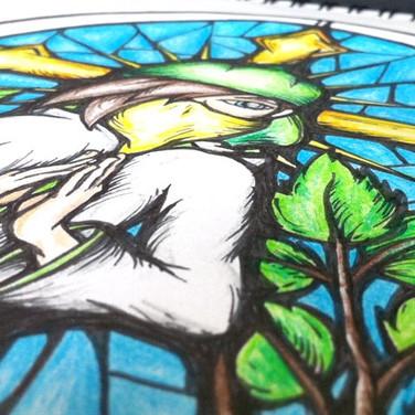 Prayerz - Close up detail