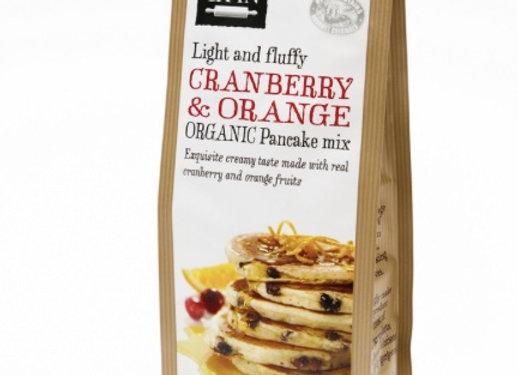 CRANBERRY & ORANGE - ORGANIC PANCAKE MIX