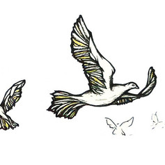 Candle Doves