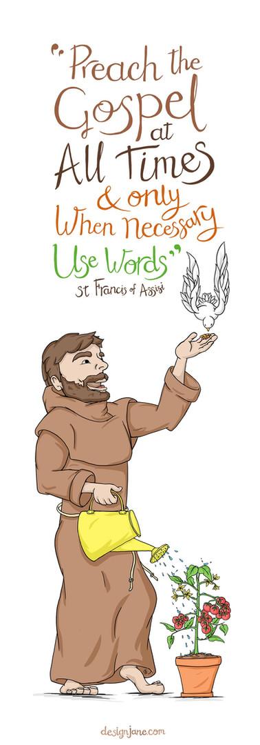 Bookmark - St Francis