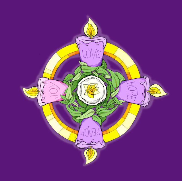 Advent 5 - Purple