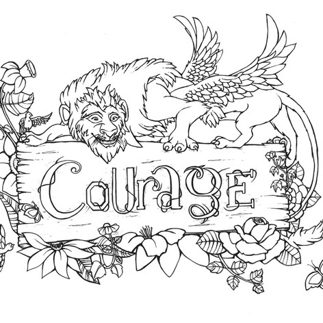 Colouring In - Words - Courage.jpg