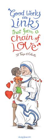 Bookmark - Mother Teresa