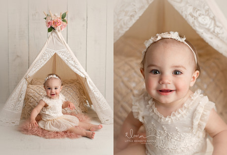 Lexi | Cake Smash | Lloydminster baby photographer