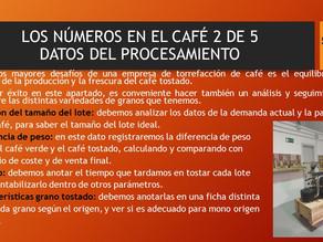 LOS NÚMEROS EN EL CAFÉ 2 DE 5