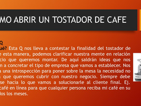 COMO ARBIR UN TOSTADOR DE CAFE 1 DE 3
