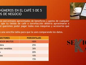 LOS NÚMEROS EN EL CAFÉ 5 DE 5