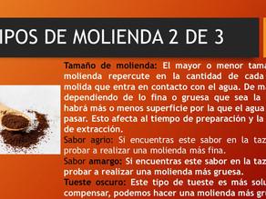TIPOS DE MOLIENDA 2 DE 3
