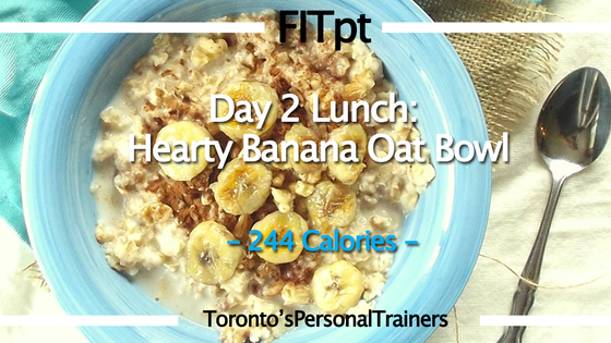 Post-Workout Meal: Hearty Banana Oat Bowl