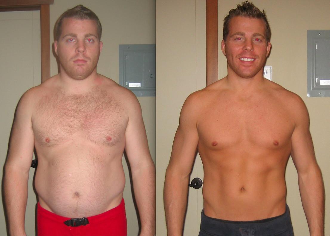 Похудение Примеры Мужчины. Похудение для мужчин: диета и упражнения
