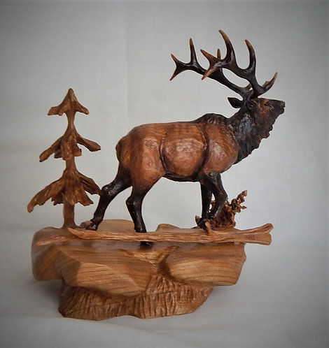 """Bugling Elk"""