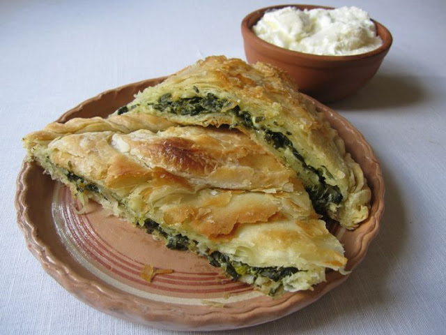 Zelnik with Benino Nettle and Leek