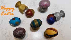 Benino Sparkling Glitter Egg Colouring Kit Video