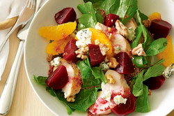 Chicken & Baby Red Beets Salad