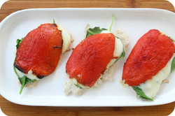 Roasted Pepper Chicken Delights