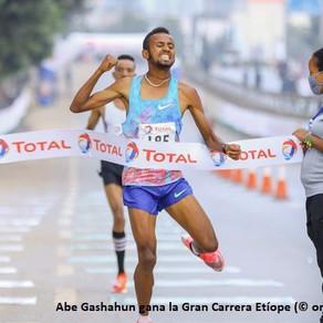 Gashahun y Gebreselama victoriosos en Great Ethiopian Run