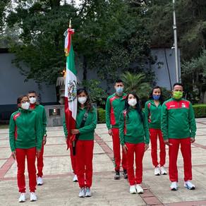 Abanderamiento de la delegación de México que participará en el Mundial de Medio Maratón Gdynia 2020