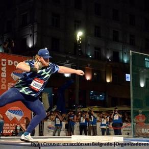 Crouser domina de nuevo con 22.59m en Belgrado