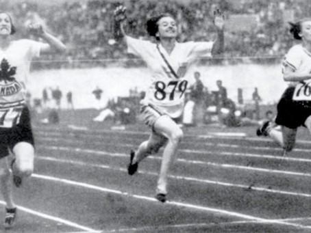 Betty Robinson, la velocista más joven en ganar el oro olímpico en los 100 metros.