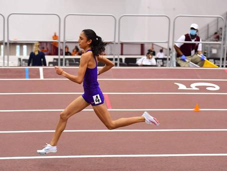 Lorena Rangel, segundo lugar en 800m, decidida a tener una excelente temporada 2021