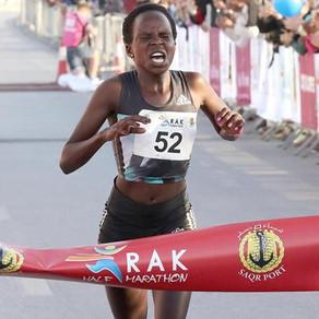 Las campeonas del mundo Jepchirchir y Chepngetich se enlistan para el Medio Maratón Ras Al Khaimah