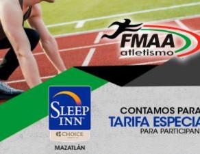 Hospedaje Hotel Sleep Inn para participantes en el Encuentro Atlético Mazatlán 2021