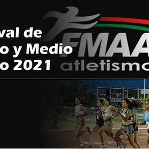Listados de Salida Festival de Medio Fondo y Fondo 2021