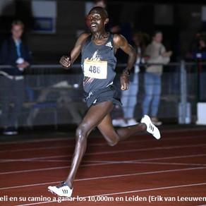 Kimeli, lider mundial de 10,000m en Leiden y Yamanishi, récord asiático en 5,000m caminata