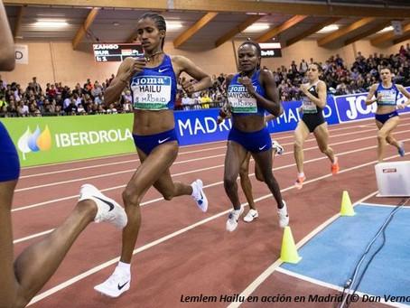 Ratificado: récord mundial sub-20 en 1,500m de Hailu en 4:01.57