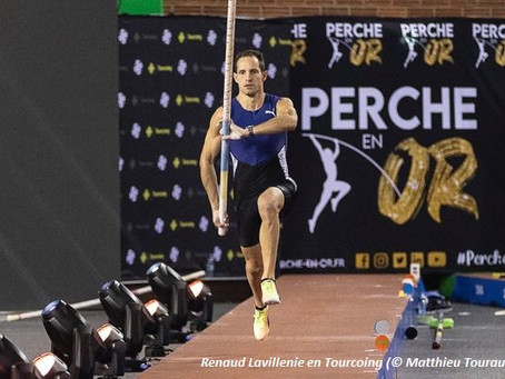 Lavillenie, líder mundial con 6.02m en Tourcoing  y Hodgkinson rompe el récord mundial U20 de 800m
