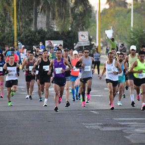 Jared Velazco Flores e Hyvon  Ngetich triunfan en el Maratón Aguascalientes 2020