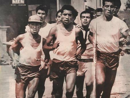 """Juan Antonio Manríquez Ortega, """"El Garras"""", Leyenda del Atletismo Guanajuatense."""