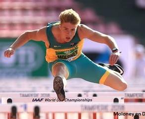 Moloney, campeón mundial Sub20, rompe el récord de decatlón de Oceanía con 8492 en Australia